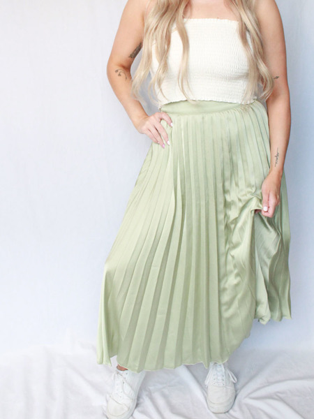 Stephanie Silk Skirt