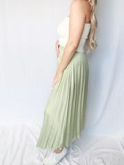 Stephanie Silk Skirt