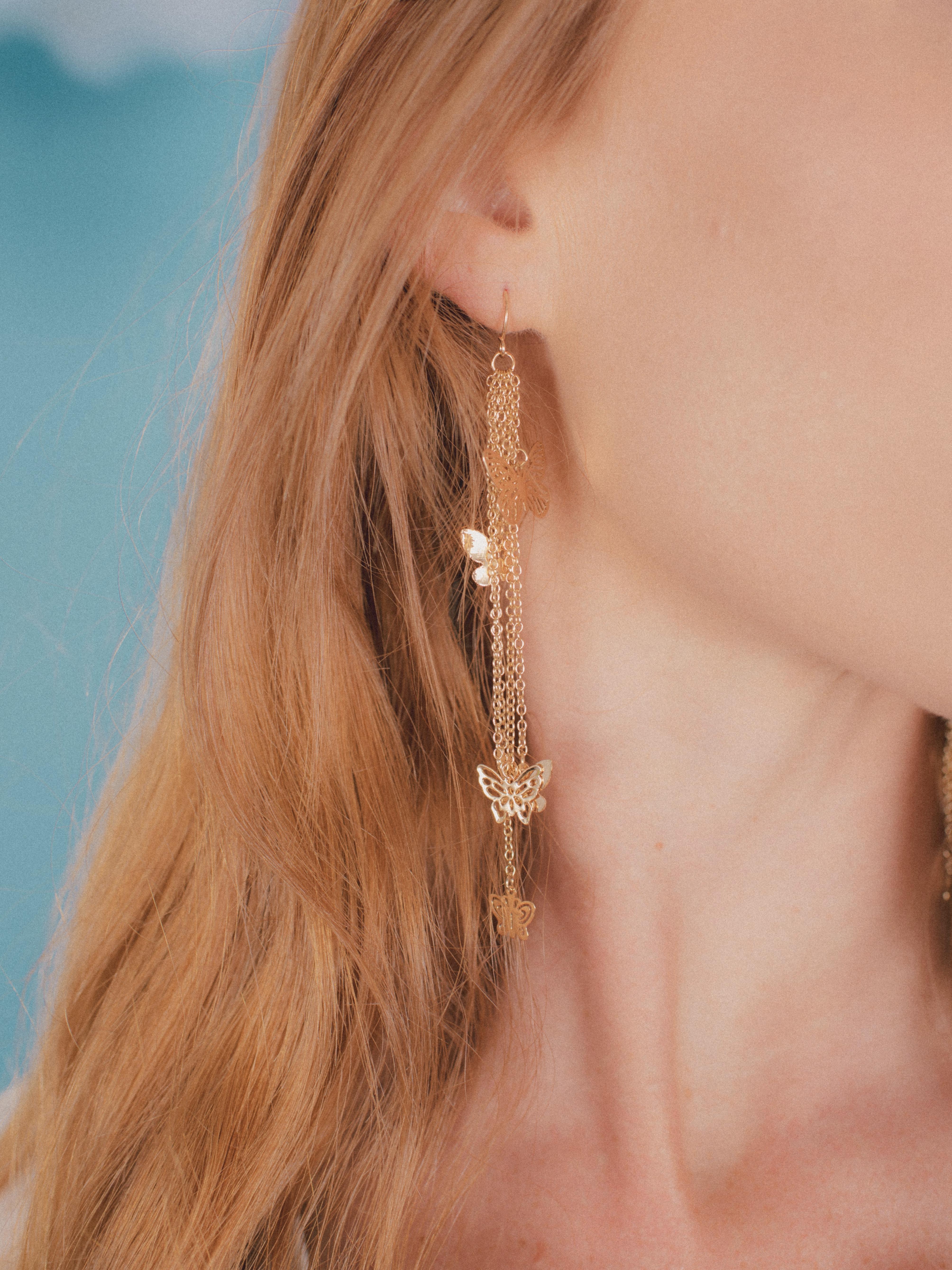 Rhopalocera Earrings