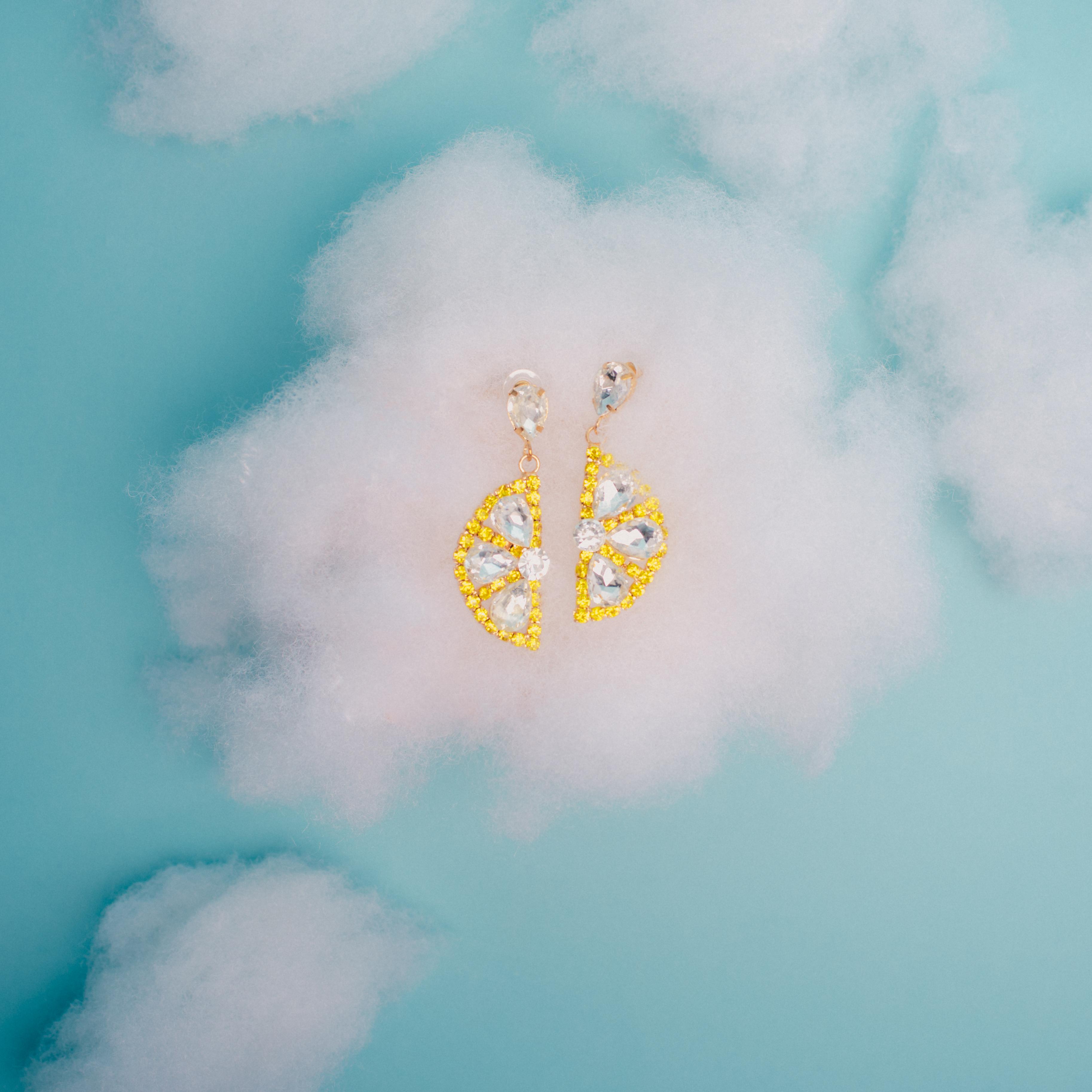 Lemon Earrings