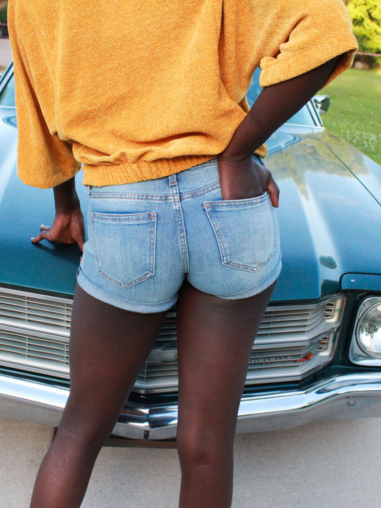 Alive & Well Denim Shorts