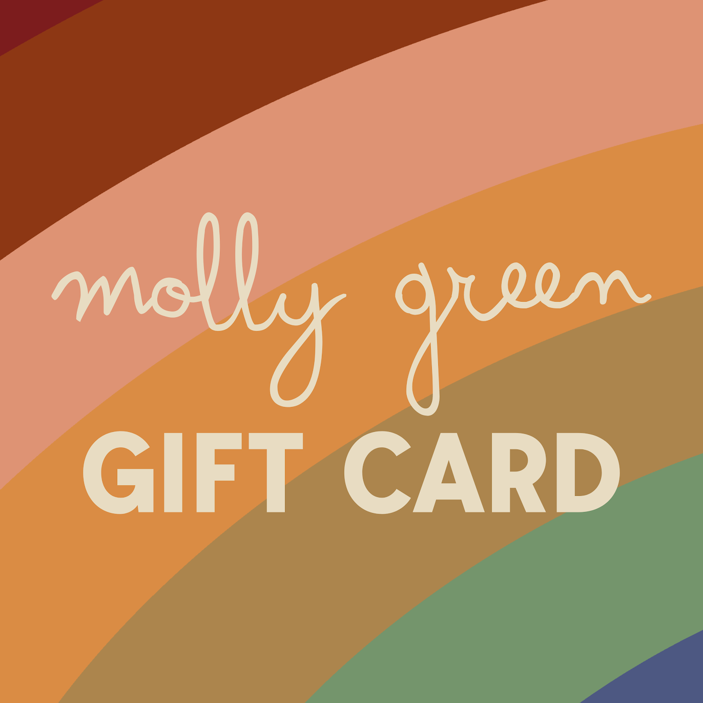 Molly Green Gift Card