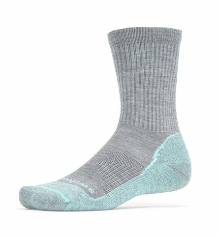 Swiftwick Pursuit Hike Six Light Cushion Socks - Heather Mint