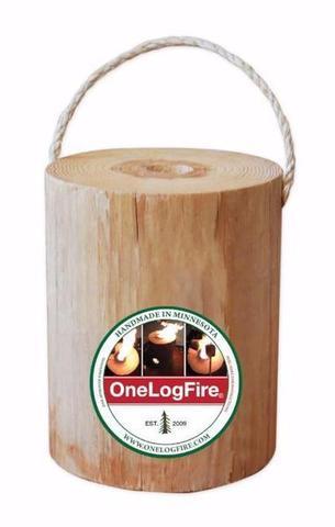 Original One Log Fire