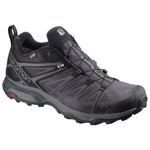 Salomon Men's X Ultra 3 GTX Shoes - Black - Magnet - Shade