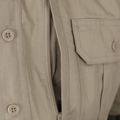 Propper Men's Short Sleeve Tactical Shirt - Khaki (chest pocket)