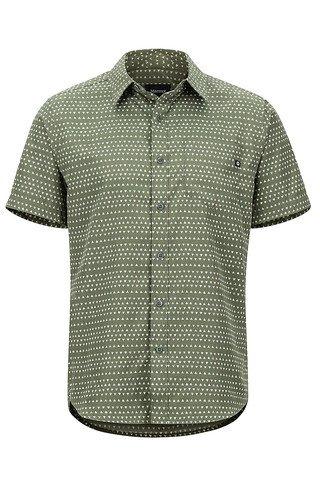 Marmot Men'sLykken SS Shirt - Crocodile Angles