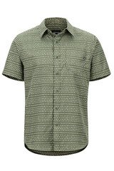 Marmot Men'sLykken SS Shirt - Crocodile Angles