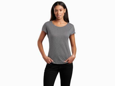 Kuhl Women's Whispr SS Top - Storm