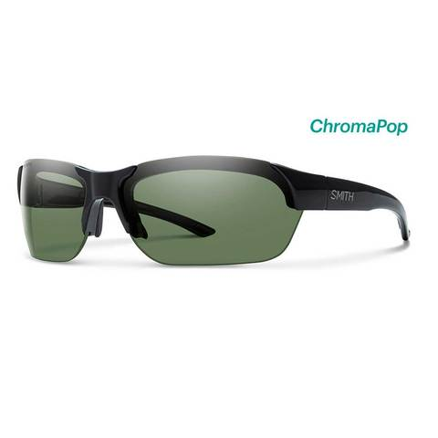 Smith Envoy Black-Polarized Gray-Green ChromaPop Sunglasses