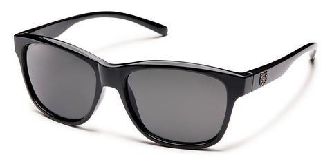Suncloud Pageant Black/Gray Polarized Sunglasses