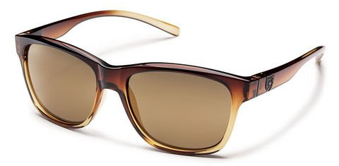 Suncloud Pageant Brown Fade/Sienna Mirror Polarized Sunglasses