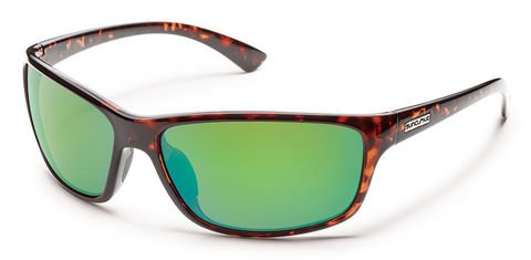 Suncloud Sentry Tortoise/Green Mirror Polarized Sunglasses