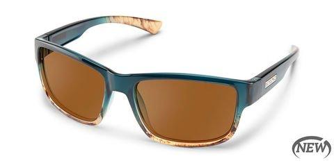 Suncloud Suspect Ocean Fade/Brown Polarized Sunglasses