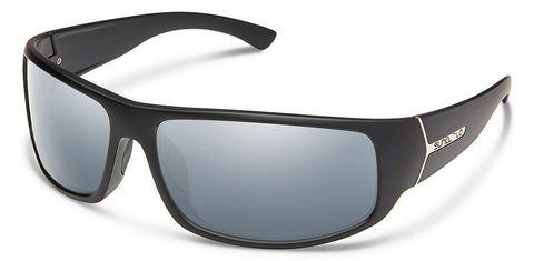 Suncloud Turbine Matte Black/Silver Mirror Polarized Sunglasses