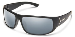 Suncloud Turbine Matte Black/Silver Mirror Polarized Sunglasses