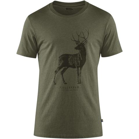 Fjällräven Men's Deer Print T-Shirt
