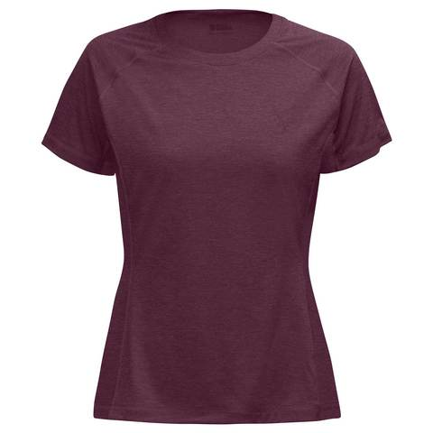 Fjällräven Women's Abisko Vent T-Shirt - Plum