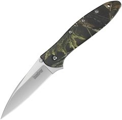 Kershaw 1660CAMO Leek Framelock Knife