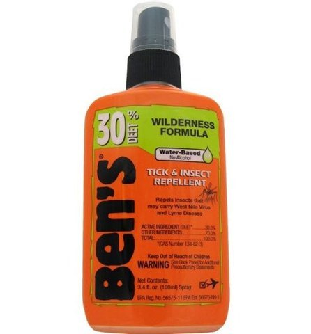 Ben's 30 3.4 oz. Pump Bottle Tick and Insect Repellent