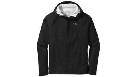OR Men's Apollo  Rain Jacket - Black