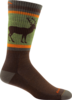 Darn Tough Uncle Buck Midweight with Cushion Socks - Brown