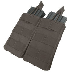 Condor MA19 Double M4-M16 Open Top Mag Pouch Black