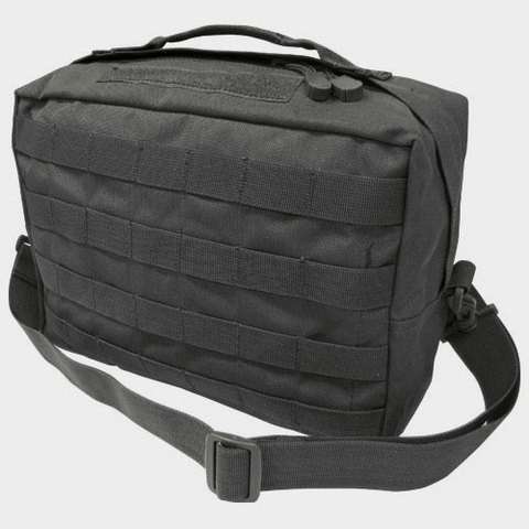 Condor 137 Utility Shoulder Bag-Black