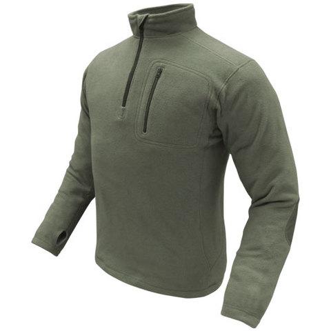 Condor 607 Zip Fleece Pullover OD