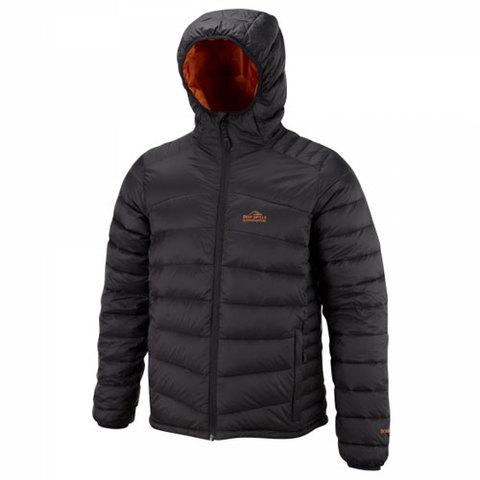 Bear Grylls Lightweight Down Jacket-Black/Survivor Orange