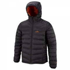 Bear Grylls Lightweight Down Jacket-Black/Survivor Orange