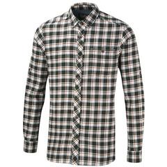 Craghoppers Men's Humbleton Long Sleeved Shirt-Dark Cedar