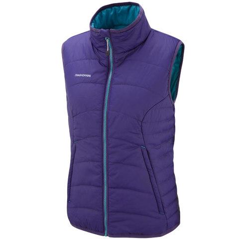 Craghoppers Women's Compresslite Packaway Vest Twilight