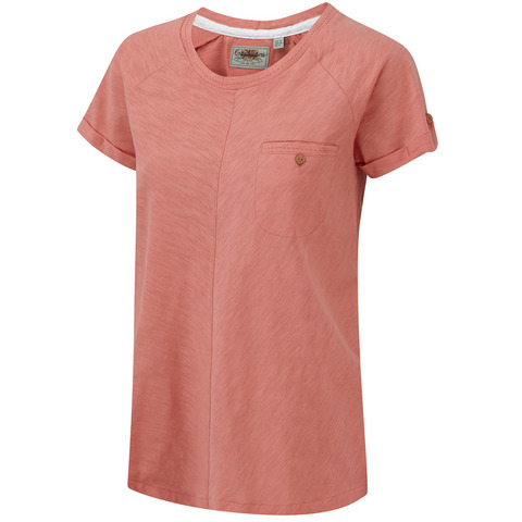 Craghoppers Women's Loxley T-Shirt-Soft Pink