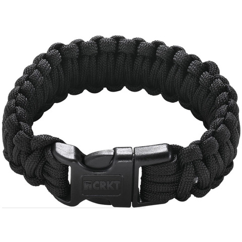 CRKT Para-Saw Paracord Survival Bracelet Black