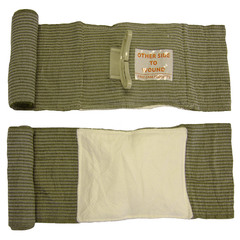 PerSys Medical Israeli Combat Bandage + SWAT-T Tourniquet