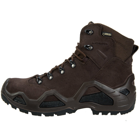 Lowa Z-6S GTX Task Force Boot-Dark Brown