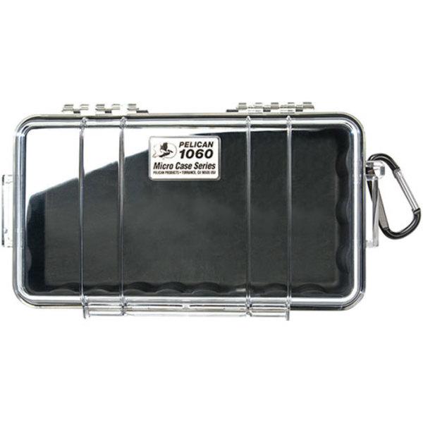 Pelican 1060 Micro Case Black/Clear
