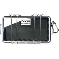 Pelican 1060 Micro Case Black/Clear