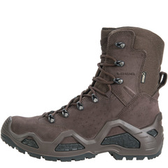 Lowa Z-8S GTX Task Force Boot-Dark Brown