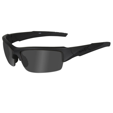 Wiley X Valor CHVAL01 Gray-Matte Black Ballistic Eyewear
