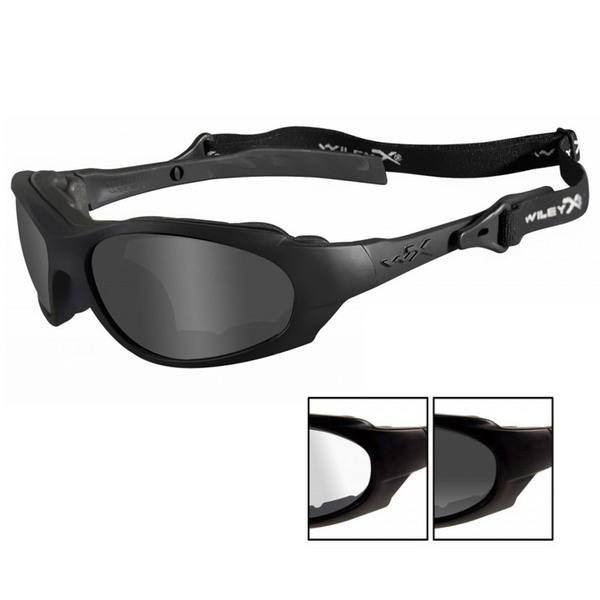 Wiley X 291 XL-1 Advanced Gray+Clear Lens-Matte Black Frame