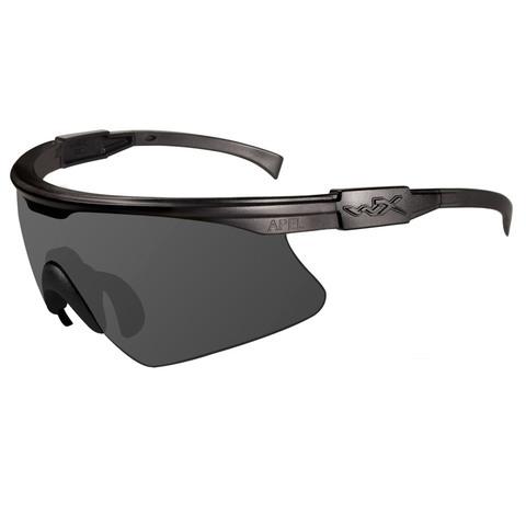Wiley X PT-1S Gray Lens-Matte Black Frame Ballistic Eyewear