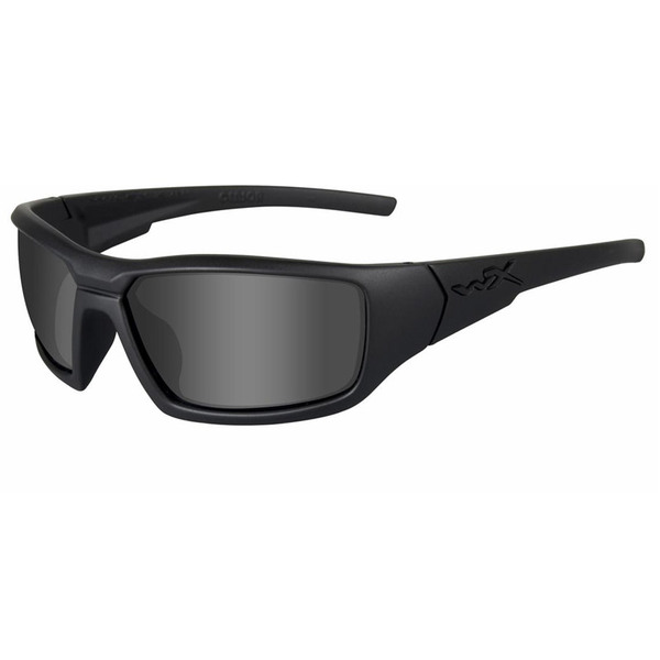 Wiley X Censor Gray Lens-Matte Black Frame Ballistic Eyewear