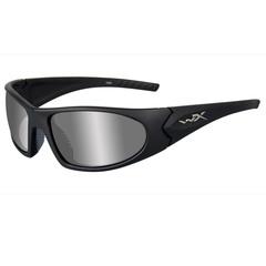 Wiley X ACZEN04 Zen Silver Flash Lens-Matte Black Frame Sunglasses