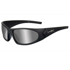Wiley X ACZEN04 Zen Silver Flash Lens-Matte Black Frame Sunglasses