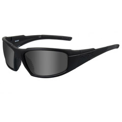 Wiley X ACRUS01 Rush Gray Lens-Matte Black Frame Sunglasses