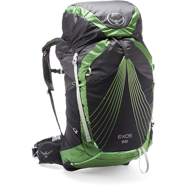 Osprey Exos 58 Backpack -  Basalt Black