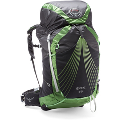 Osprey Exos 58 Backpack -  Basalt Black