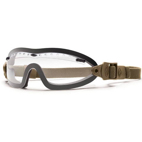 Smith Optics Elite-Boogie Sport Goggle Tan-Clear Lens